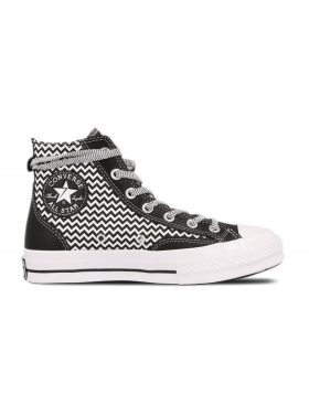 "CONVERSE – ""Voltage"" Chuck 70 High Top (Black/White)"