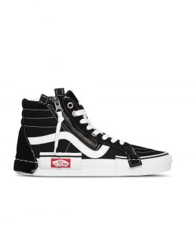 "VANS – SK8Hi Reissue Ca Deconstructed ""Cut And Paste"" (Black/True White)"