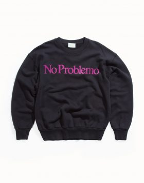 ARIES – No Problemo Sweat (Black)