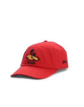 STUSSY – Irie Roots Cap (Red)