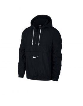 NIKE – Sportswear SWOOSH Men's Woven Jacket (Black/White)