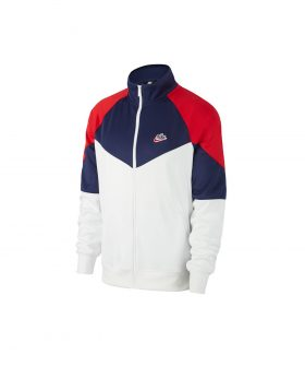 NIKE – Sportswear Windrunner Men's Jacket (Summit White/Midnight Navy)