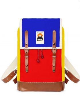 YKRA MATRA MINI LS BLUE RED YELLOW