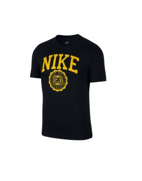NIKE – Sportswear Men's T-Shirt (Black/Dark Sulfur)