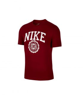 NIKE – Sportswear Men's T-Shirt (Team Red/White)
