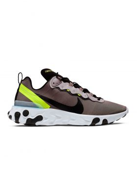 NIKE – React Element 55 Man (Pumice/Black-White-Blue Chill)