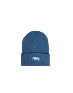 STUSSY – Stock Cuff Beanie (Blue)
