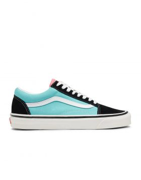 VANS – Old Skool 36 DX Anaheim Factory (Black & Aqua)