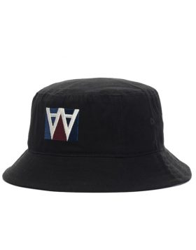 WOOD WOOD – Bucket Hat (Black)