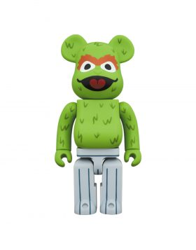 MEDICOM TOY – Be@rbrick OSCAR THE GROUCH MUPPET 1000%