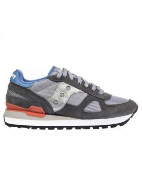 SAUCONY – Shadow Original Woman (Dark Grey/Baby Blue)