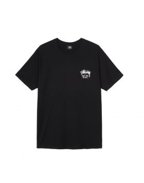 STUSSY – Don't Take The Bait Tee (Black)
