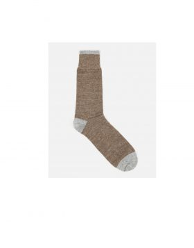 UNIVERSAL WORKS – Alpaca Socks (Brown)