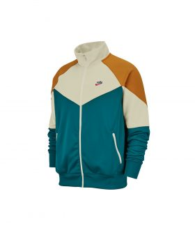 NIKE – Sportswear Windrunner Men's Jacket (Geode Teal/Sail/Gold Suede)