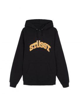 STUSSY – Chenille Arch Hood (Black)