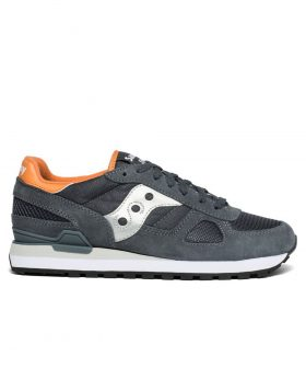 SAUCONY – Shadow Original Man (Dark Grey/Burnt Orange)