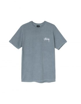STUSSY – Daydream Pig Dyed Tee (Slate)