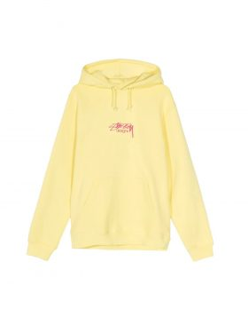 STUSSY – Stussy Designs Hood (Lemon)