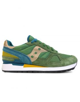 SAUCONY – Shadow Original Man (Green/Teal/Yellow)