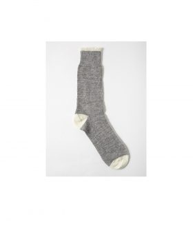 UNIVERSAL WORKS – Alpaca Socks (Grey Marl)