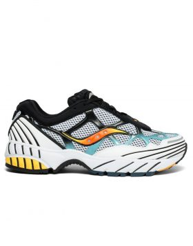 SAUCONY – Grid Web Unisex (White/Grey/Blue)
