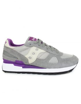 SAUCONY – Shadow Original Woman (Light Grey/Purple)