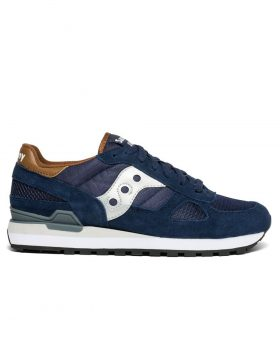 SAUCONY – Shadow Original Man (Navy/Brown)