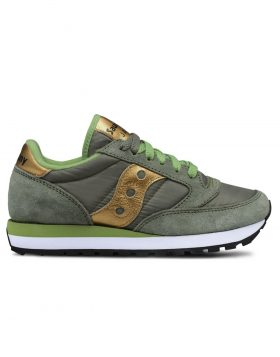 SAUCONY – Jazz O' Woman (Olive/Gold)