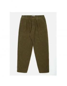 UNIVERSAL WORKS – Pleated Track Pant (Olive)