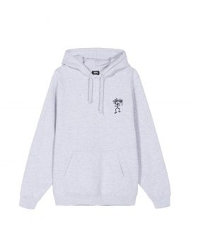 STUSSY – Warrior Man Hood (Ash Heather)