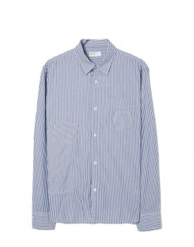 UNIVERSAL WORKS – Patch Shirt (Navy)