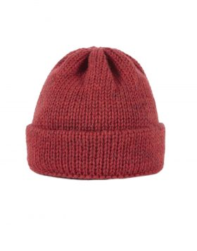 Universal Works – Short Watch Cap (Red)