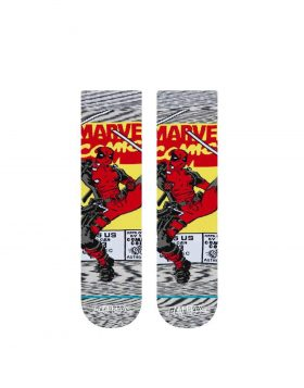 STANCE – Deadpool Comic Socks (Grey)