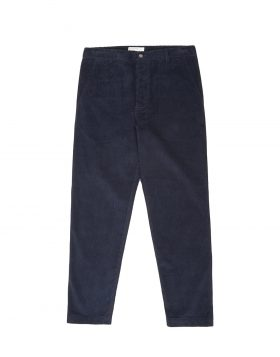 Universal Works – Military Chino in 8 Wale Cord (Navy)