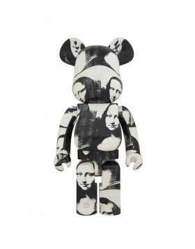 "MEDICOM TOY – Be@rbrick Andy Warhol ""Double Mona Lisa"" 1000%"