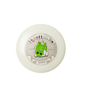 RIPNDIP – Phone This Glow In The Dark Flying Disk (Saucer Green)