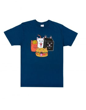 RIPNDIP – Mcnerm Tee (Harbor Blue)