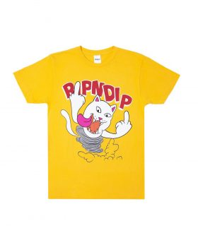 RIPNDIP – Nermanian Devil Tee (Gold)
