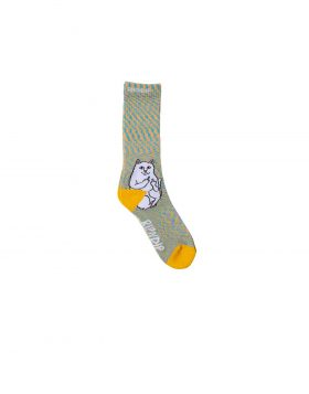 RIPNDIP – Lord Nermal Socks (Gold Rainbow)