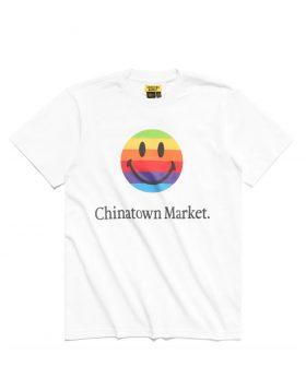 CHINATOWN MARKET – Smiley Apple T-shirt (White)