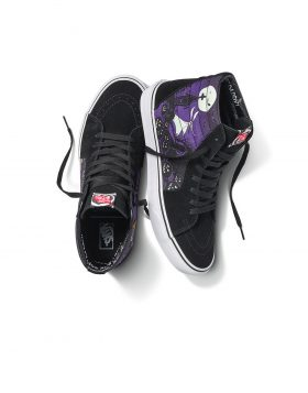 VANS – Sk8-Hi Disney Nightmare (Purple/Glow in the Dark)