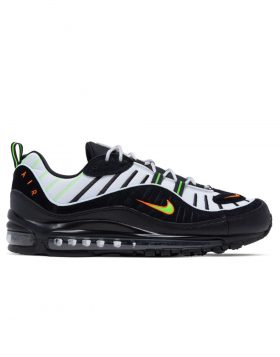 NIKE – Air Max 98 (Platinum Tint/Black-Electric Green)