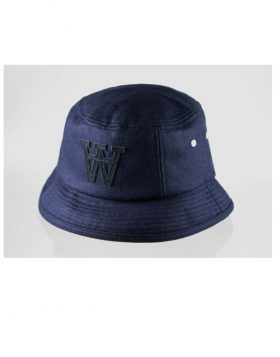 WOOD WOOD – Logo Fishers Hat (Dark Navy)