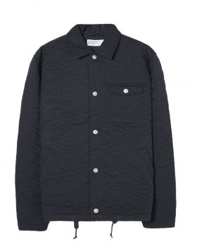 Universal Works – Coach Jacket in Sashiko Quilt Twill (Navy)