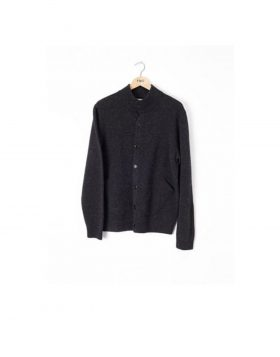 You Must Create – Hand Pocket Cardigan (Charcoal)