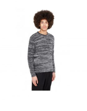 You Must Create – Wickerman Merino & Mohair Crew (Charcoal)