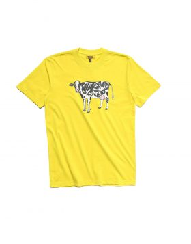 CHINATOWN MARKET – Cow T-Shirt (Yellow)