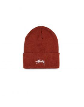 STUSSY – Stock Cuff Beanie (Rust)