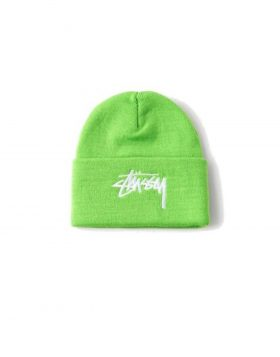 STUSSY – Stock Cuff Beanie (Green)