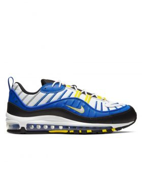 NIKE – Air Max 98 Man (Racer Blue/White-Black-Dynamic Yellow)